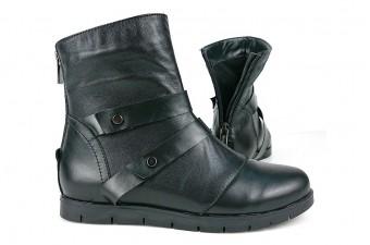 0004 Ботинки кожаные женские