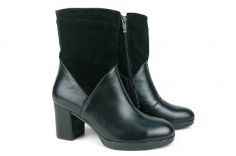 6055 Ботинки на каблуке
