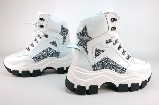 SPORT-2098 Ботинки на спортивной подошве