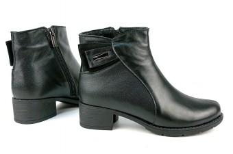 924 Ботинки женские на каблуке
