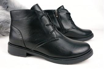 В НАЛИЧИИ -1008 Ботинки кожаные женские