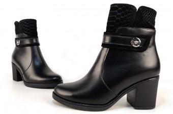 ❆ Адель Зимние ботинки на каблуке