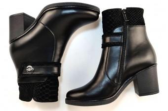 Адель Ботинки деми на каблуке