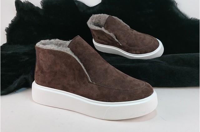 Лора-L  Замшевые ботинки