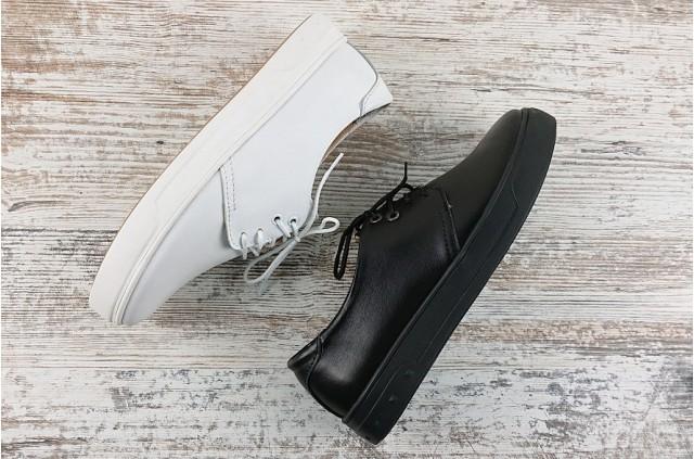 Т-117 Fashion Мокасины на шнуровке