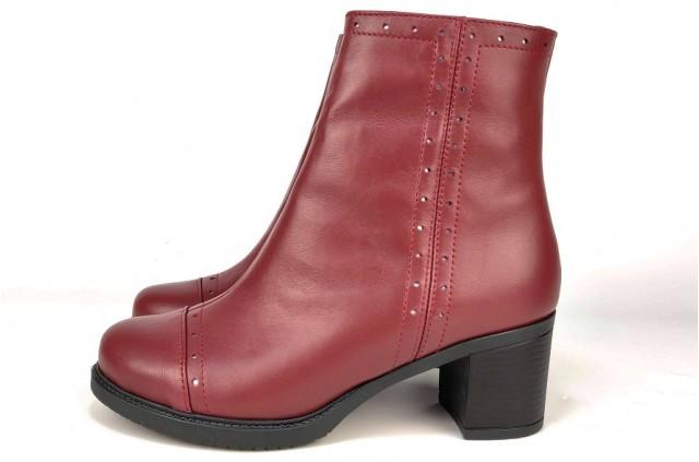 6014-Б Ботинки на каблуке