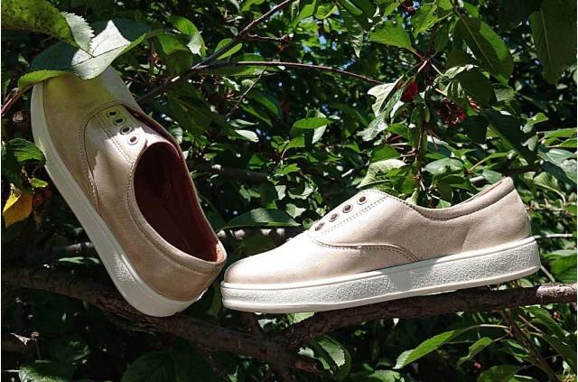 D-205 Слипоны детские. Школьная обувь